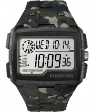 Timex TW4B02900 Mens ekspedisjon digital sjokk khaki camo Chrono klokke