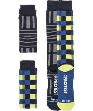 Protest Herre grafisk duo pakke sokker