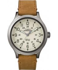 Timex TW4B06500 Mens ekspedisjon speider tan lærreim watch