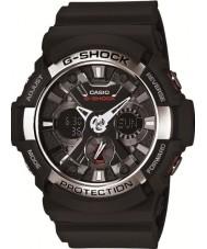 Casio GA-200-1AER Mens g-shock verdens tid svart chronograph klokke
